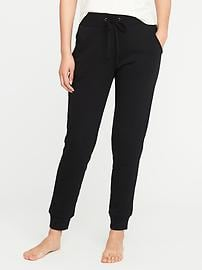 French-Terry Lounge Joggers for Women - Blackjack